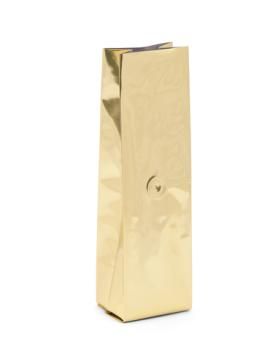 12-16 oz Gold Side Gusseted Bag w/ Valve