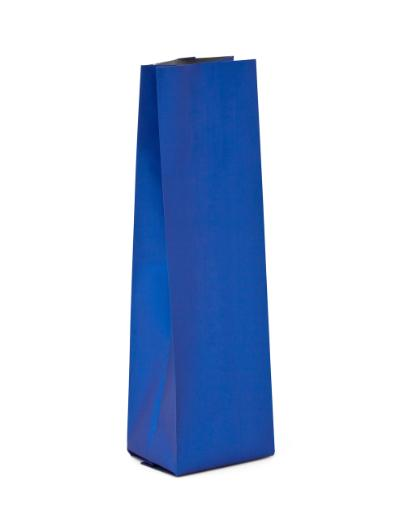 12-16 oz Matte Cobalt Blue Side Gusseted Bag No Valve