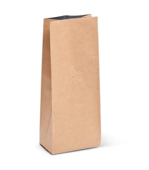 2 lb Natural Kraft Side Gusseted Bag w/ Valve