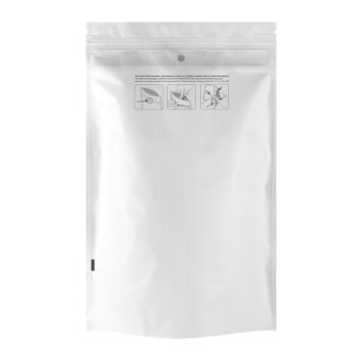 Ounce Child Resistant White Pouch
