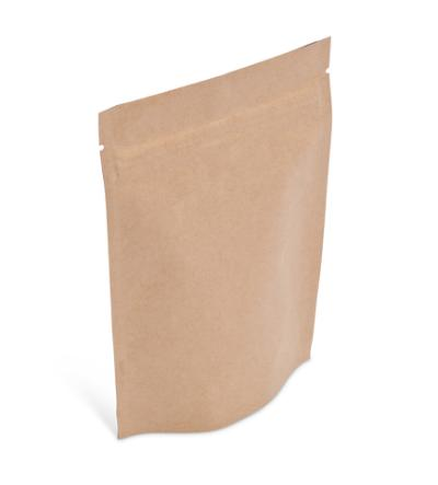 2 oz Natural Kraft Stand-Up Pouch w/ Zipper