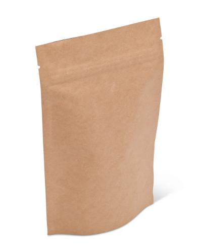 4 oz Natural Kraft Stand-Up Pouch w/ Zipper