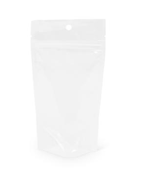 2 oz Crystal Clear Pac Stand-Up Pouch w/ Zipper